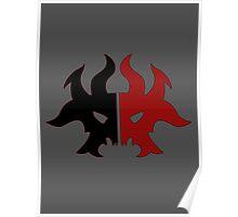 Rakdos Cult Symbol Poster