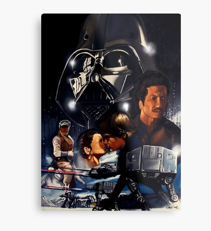 EMPIRE STRIKES BACK Metal Print