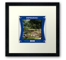 Honduras - The Waters Surge Deep Framed Print