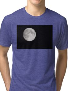 Full Moon, taken on 7th Sep 2014 Tri-blend T-Shirt