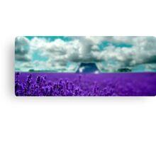 Utopia - Purple Landscape Canvas Print