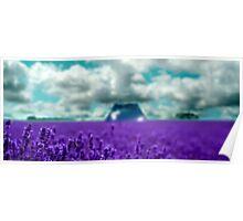 Utopia - Purple Landscape Poster