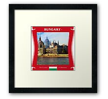Hungary - The Land of Otherness Framed Print