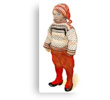 Matts in Sweater and Stocking Cap Canvas Print