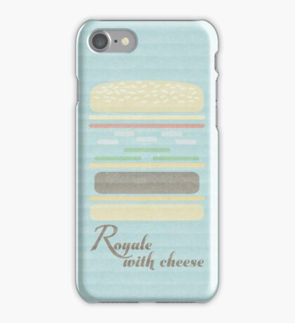 Royale With Cheese iPhone Case/Skin