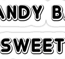 Candy Bar Sticker