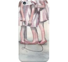 A Skipping Moment iPhone Case/Skin