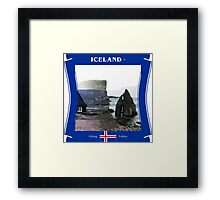 Iceland - Viking Fables Framed Print