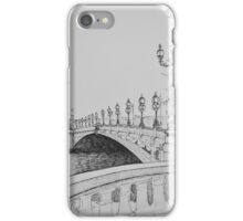 Paris Pont Alexandre 3 on the River Seine iPhone Case/Skin