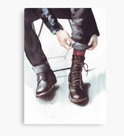 A Boot Moment Canvas Print
