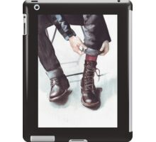 A Boot Moment iPad Case/Skin