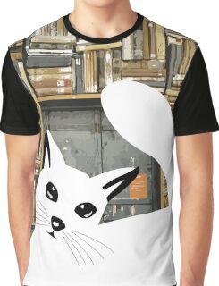 Curious Cat I  Graphic T-Shirt
