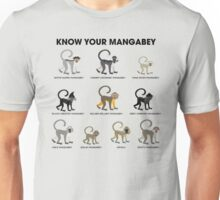 Know Your Mangabey Unisex T-Shirt