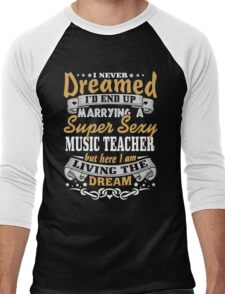 Music teacher T-shirt Men's Baseball ¾ T-Shirt