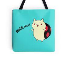 Catbug - Adventure Time - Evil Parody Tote Bag