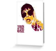 Mani - This is the one Greeting Card