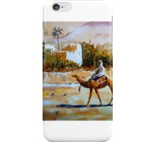 morning at the oasis iPhone Case/Skin