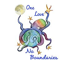 One Love No Boundaries Photographic Print