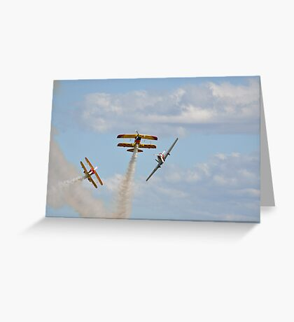 Kempsey Air Show, Australia 2016 -formation break Greeting Card