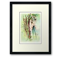 """Encounter"" from ""Love Angels"" series Framed Print"