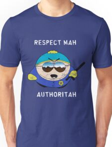 Respect Mah Authoritah - Light text  Unisex T-Shirt