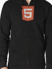 HBO SILICON VALLEY 'HTML5' Zipped Hoodie