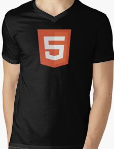 HBO SILICON VALLEY 'HTML5' Mens V-Neck T-Shirt