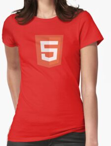 HBO SILICON VALLEY 'HTML5' Womens Fitted T-Shirt
