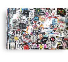 Sticker Shock Canvas Print