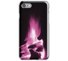 Pink Flame Rising iPhone Case/Skin