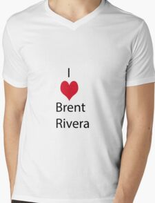 Brent Rivera Mens V-Neck T-Shirt
