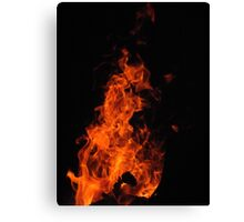 Rising Flame Canvas Print