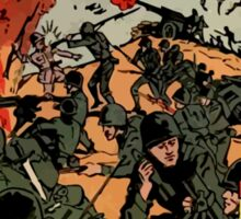 200 WW2 Soldiers Comic Book Ad Sticker