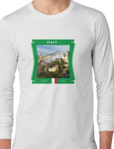 Italy - A Land Of Vineyards Long Sleeve T-Shirt