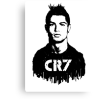 CR7 tattoo Canvas Print