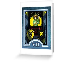 Persona Arcana - Chie the Chariot Greeting Card