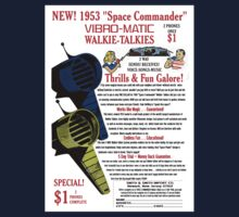 Space Commander Walkie Talkies by kayve