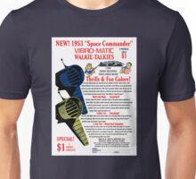 Space Commander Walkie Talkies Unisex T-Shirt
