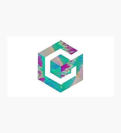 Vaporwave Gamecube Photographic Print