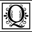 Letter Q Monogram by imaginarystory