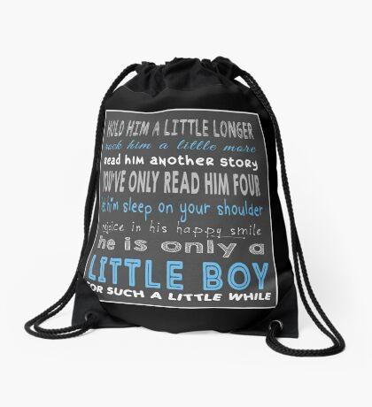 Little Boy Drawstring Bag