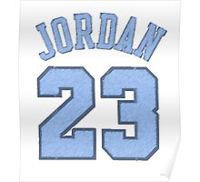 Michael Jordan Jersey Poster