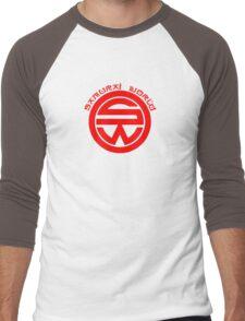 Westworld Samurai World Red Symbol Men's Baseball ¾ T-Shirt