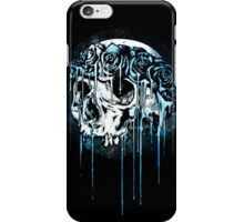 Blue Flower Crown Skull~ iPhone Case/Skin