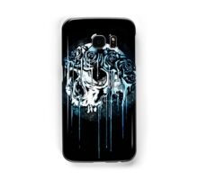 Blue Flower Crown Skull~ Samsung Galaxy Case/Skin