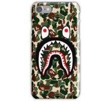 Camouflage Shark iPhone Case/Skin