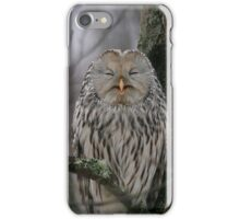 Laughing Owl iPhone Case/Skin