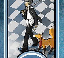 Persona Arcana - Souji the Fool by playerprophet