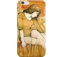 """""""Moment of Rest"""" from the series """"Everyday Angel"""" iPhone Case/Skin"""