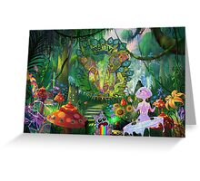 Forest Camp Out Greeting Card